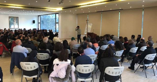Sesiones de formación bíblica en Beirut, por la Congregación de la Misión
