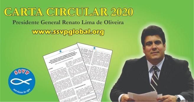 Carta circular 2020 del Presidente General de la Sociedad de San Vicente de Paúl