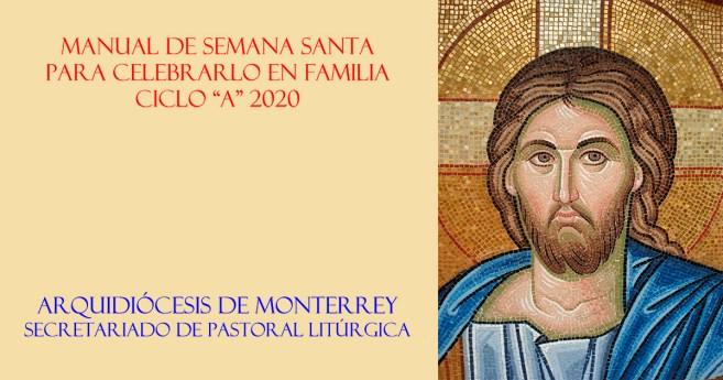 Guión para las celebraciones de Semana Santa en familia