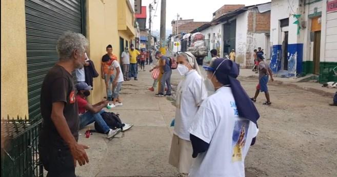Nuestro quehacer en tiempos de pandemia (Hijas de la Caridad de Cali, Colombia)