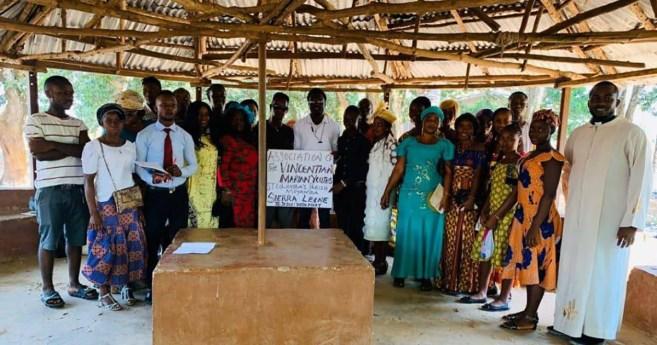 La actividad de la Familia Vicenciana en Sierra Leona