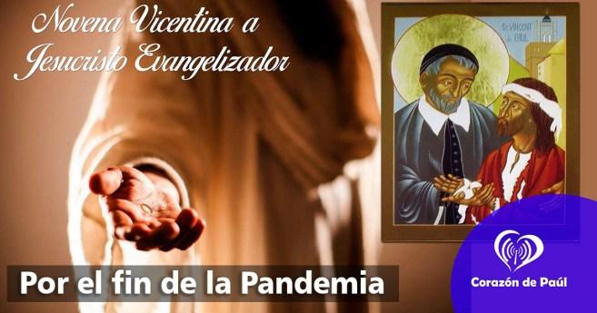 Novena vicentina por el fin de la Pandemia, día 6