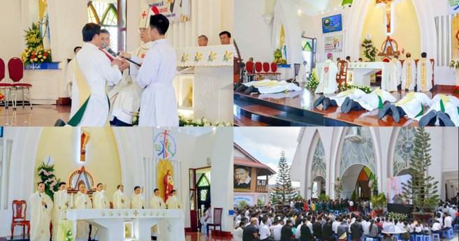 «Estar con Dios y con el pueblo de Dios»: la misión de los neosacerdotes de la Congregación de la Misión en Vietnam