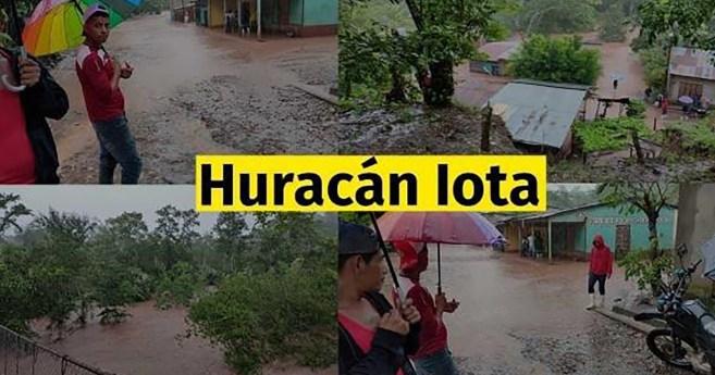 Huracán Iota y su devastador paso por Nicaragua