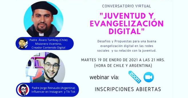 Conversatorio sobre Juventud y Evangelización Digital