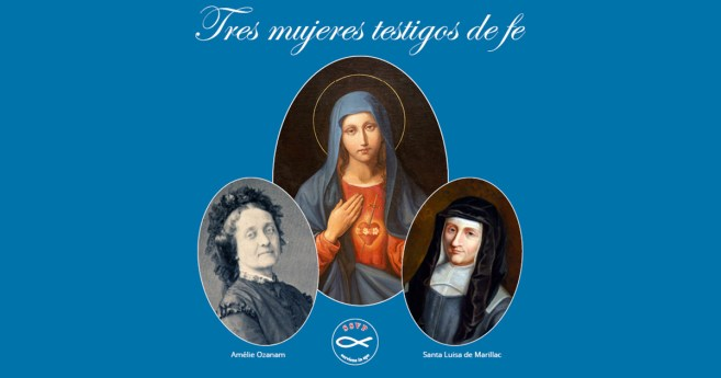 Tres mujeres testigos de fe