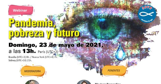 El Consejo General de la SSVP promueve un seminario web sobre la pandemia y el trabajo vicentino a futuro
