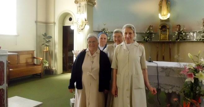 Noticias de una hermana misionera en Bahía Blanca (Argentina)