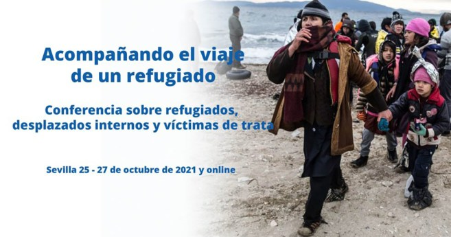 El monseñor Vitillo y el cardenal Czerny, principales ponentes de la conferencia sobre refugiados de la Alianza Famvin con las personas sin hogar