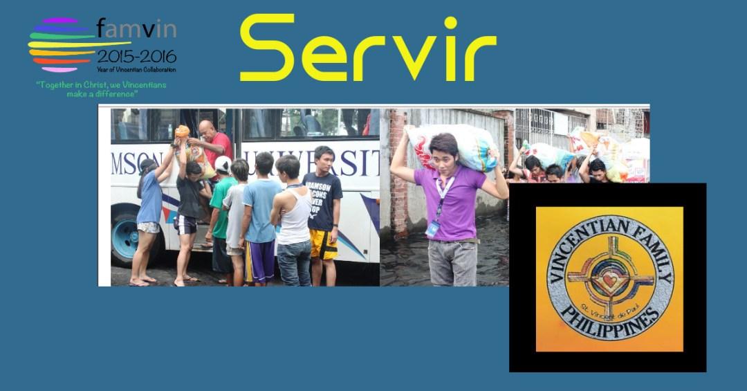 Servir: La Famille Vincentienne aux Philippines