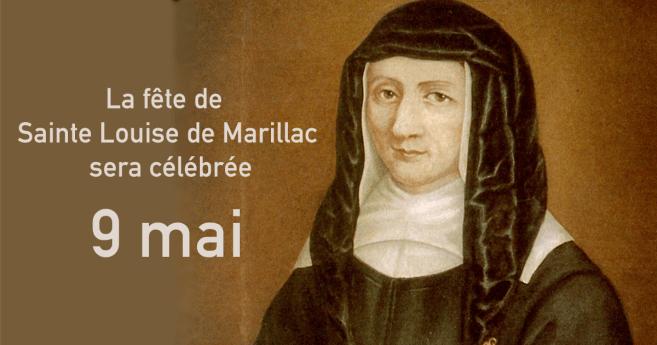 La fête de Sainte Louise sera célébrée 9 mai