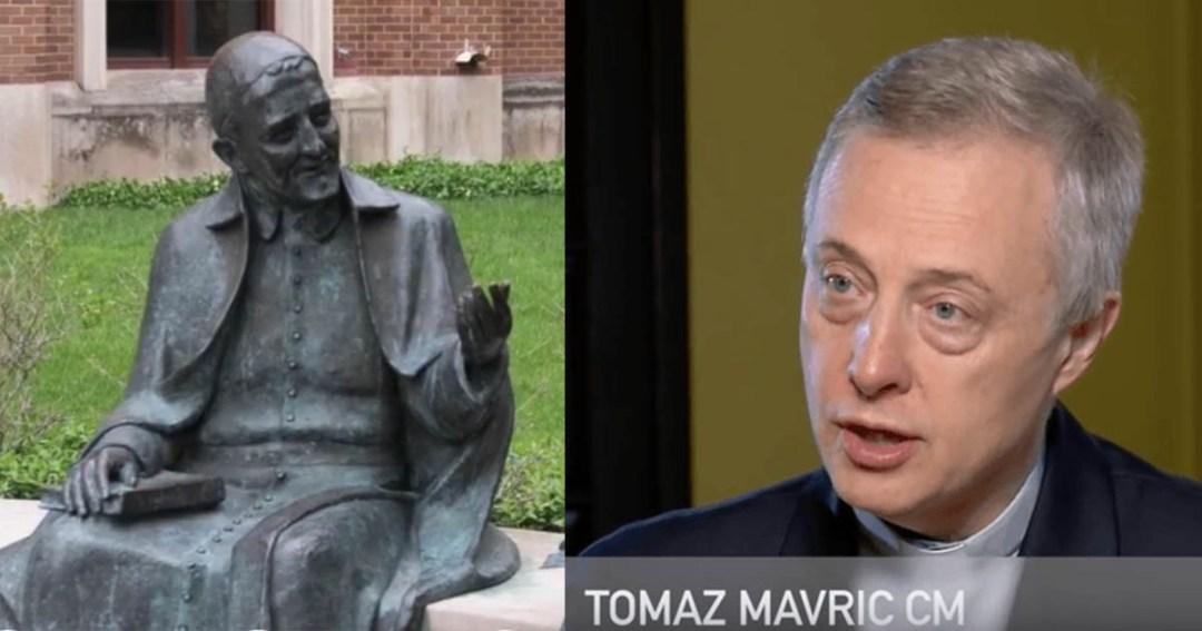 Entretien avec le P. Tomaž Mavrič, CM, tenue en 2013