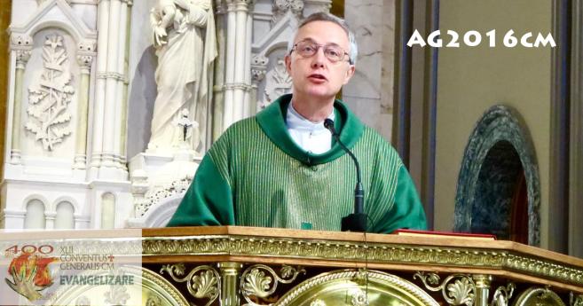 Homélie du P. Mavrič à la messe avec la famille vincentienne – Chicago