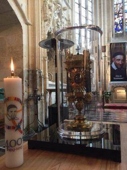Pèlerinage de la Relique du Cœur de Saint Vincent de Paul à Folleville