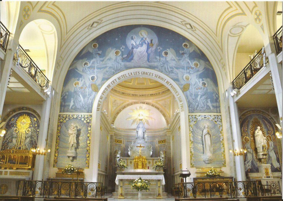 Visitation: la «médaille miraculeuse» dans les Jardins du Vatican
