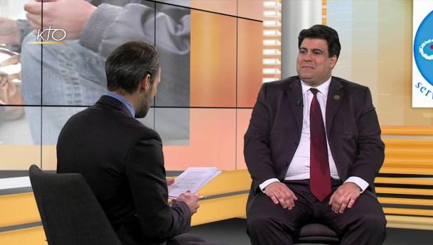 Renato Lima de Oliveira, 16ème Président Général de la SSVP, en entretien sur KTO TV