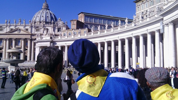 """La """"Charité"""" de Turin au Symposium des Vincentiens à Rome"""