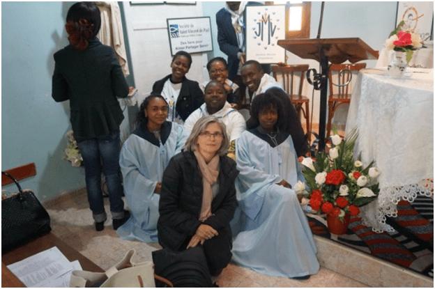 JMV d'Algerie: Fête de Saint Vincent de Paul et Consécration Mariale