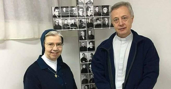 P. Tomaž Mavrič, C.M. et Sr. Kathleen Appler FdlC ont visité le Kosovo et l'Albanie