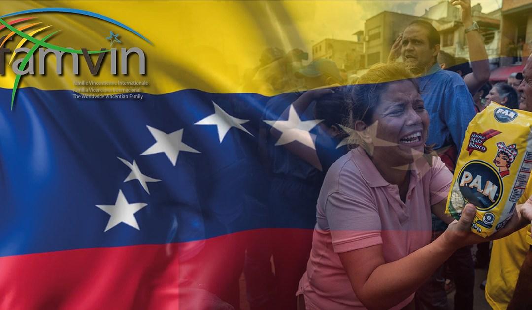 Déclaration de solidarité de la Famille Vincentienne avec le peuple du Venezuela
