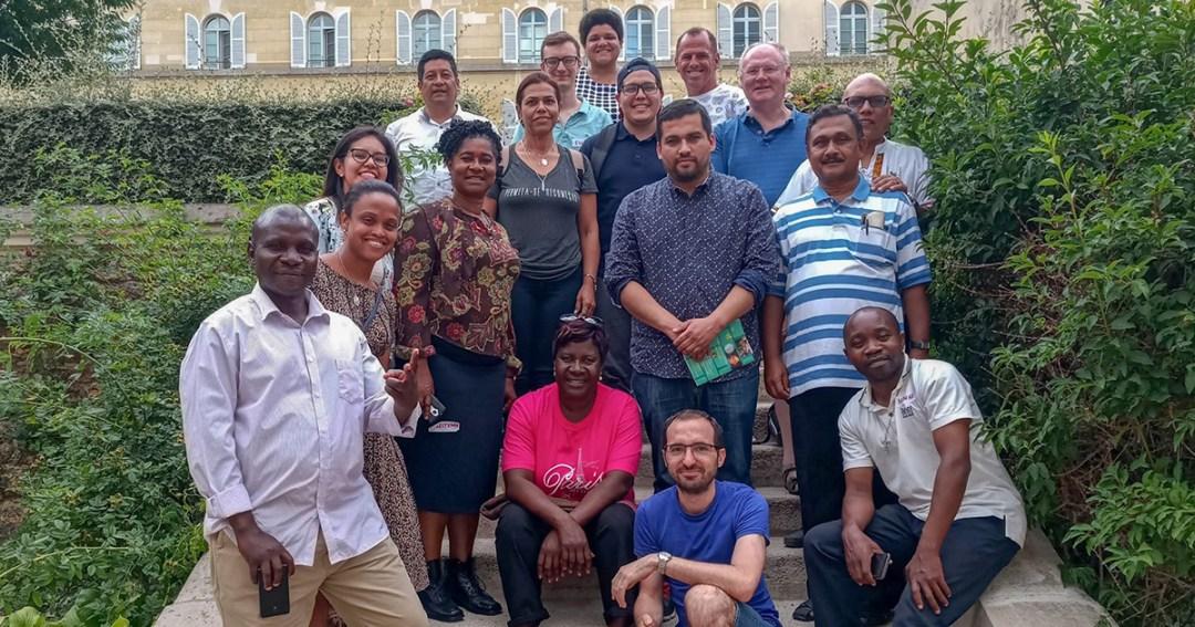 Les ambassadeurs bénévoles de l'Alliance Famvin avec les personnes sans-abris se réunissent pour la première fois