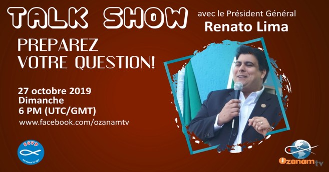 Talk Show avec le Président Général de la Société de Saint-Vincent-de-Paul