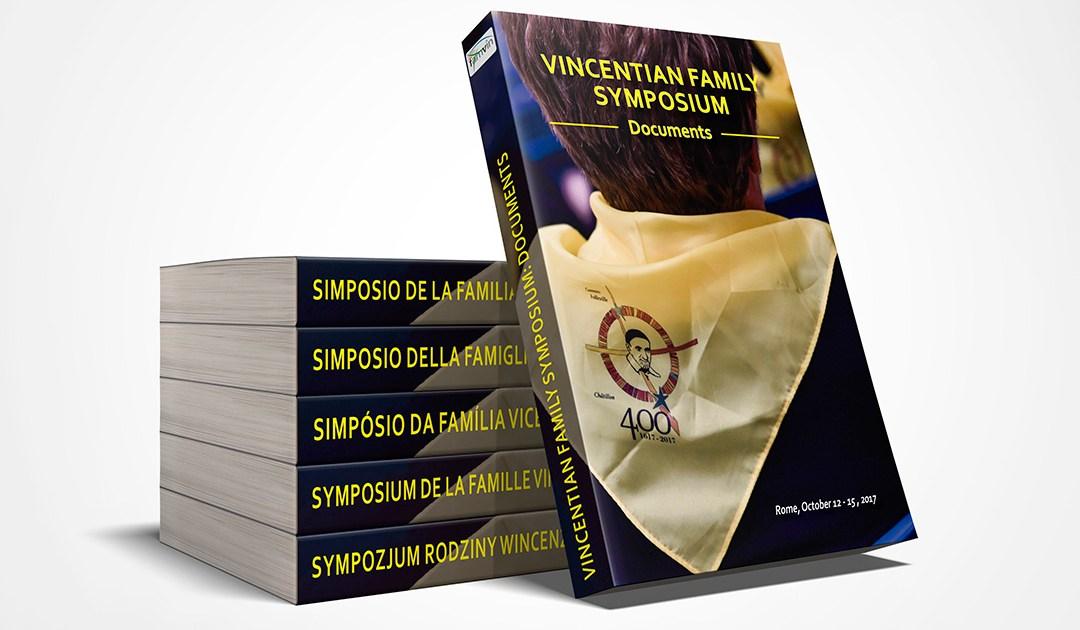 Le livre du Symposium de la famille vincentienne est publié