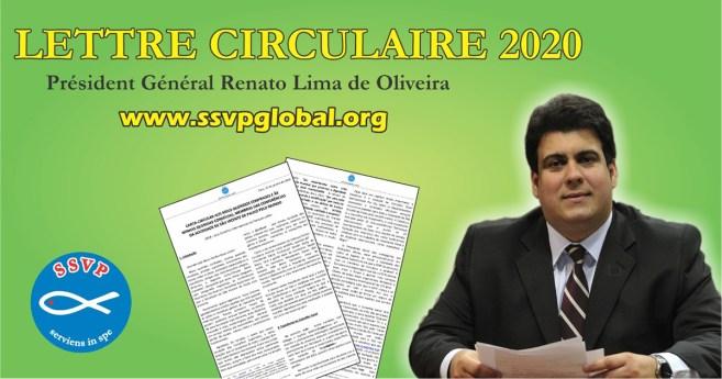 Lettre circulaire 2020 du Président Général de la Société de Saint-Vincent-de-Paul