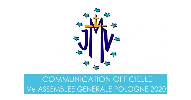 Communication Officielle Ve Assemblee Generale de la JMV, Pologne 2020