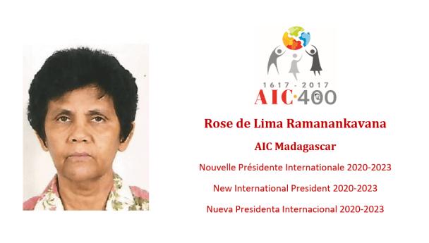 VFO: Félicitations pour la nouvelle présidente internationale des (AIC)