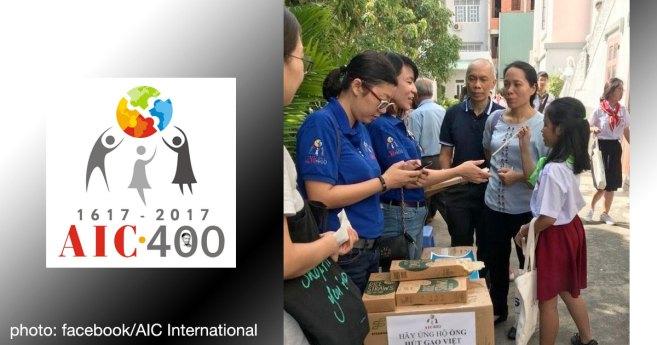 Les volontaires AIC au Vietnam travaillent à la réduction des déchets plastiques