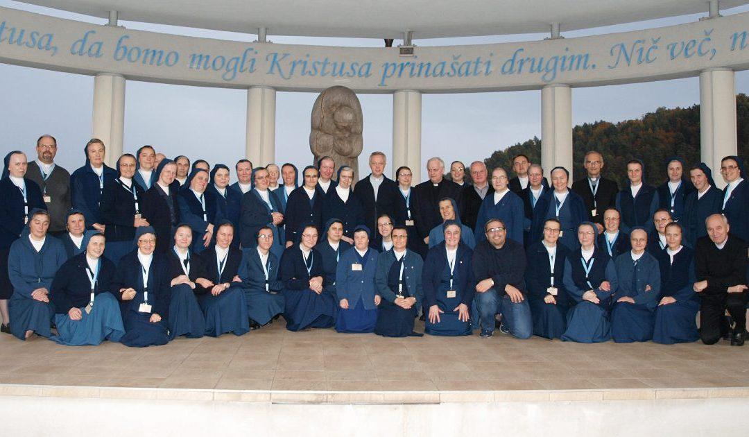 Incontro dei Consigli provinciali delle Province slave delle Figlie della Carità a Celje, Slovenia