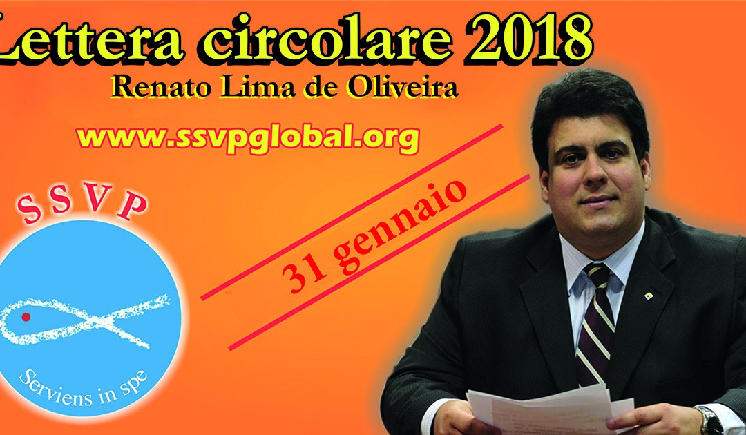 Lettera circolare annuale del Presidente Generale della Società di San Vincenzo de 'Paoli