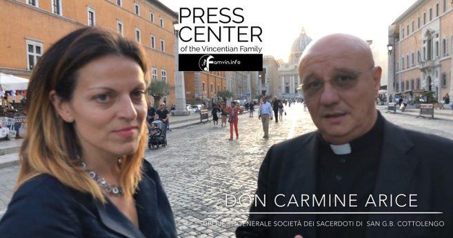 Intervista a Don Carmine Arice, Superiore Generale della Famiglia Cottolenghina e della Piccola Casa della Divina Provvidenza