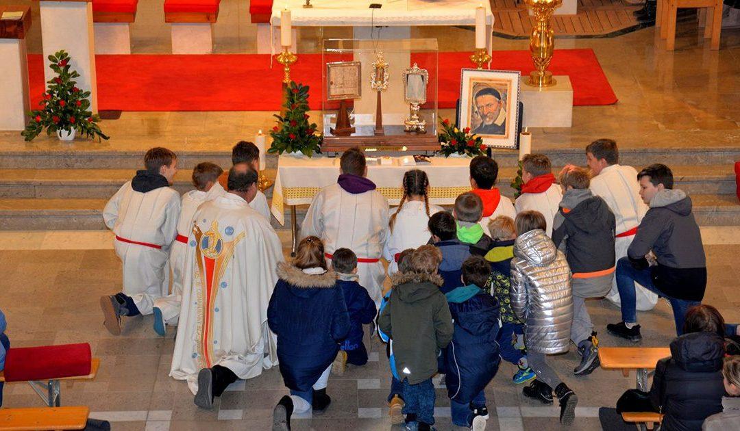 Pellegrinaggio delle reliquie di San Vincenzo in Slovenia, in Serbia e in Macedonia del Nord