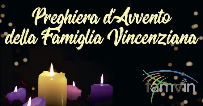 Preghiera d'Avvento della Famiglia Vincenziana, 6 dicembre