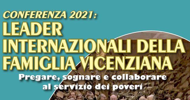 Incontro virtuale dei leader della Famiglia Vincenziana, 16-17 settembre 2021