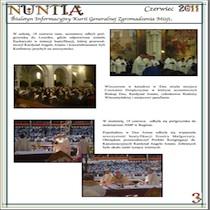 NUNTIA – czerwiec 2011