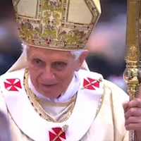 Wielki Czwartek: homilia Benedykta XVI — Msza św. Krzyżma