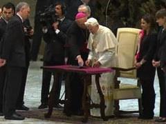 Benedykt XVI – @Pontifex_pl – napisał na Twitterze