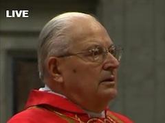 Homilia kard. Sodano podczas Mszy św. w intencji wyboru nowego Papieża