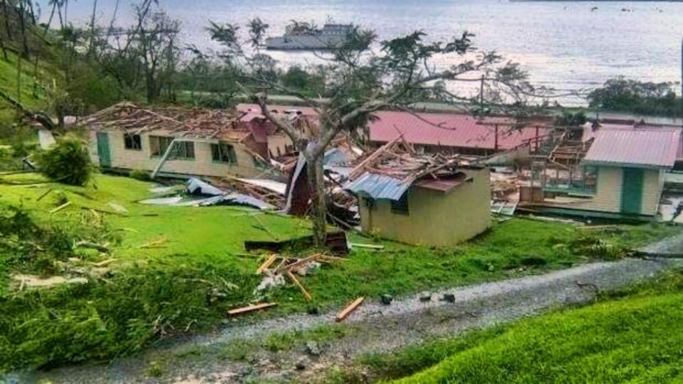 Misjonarze na Fidżi przetrwali atak cyklonu