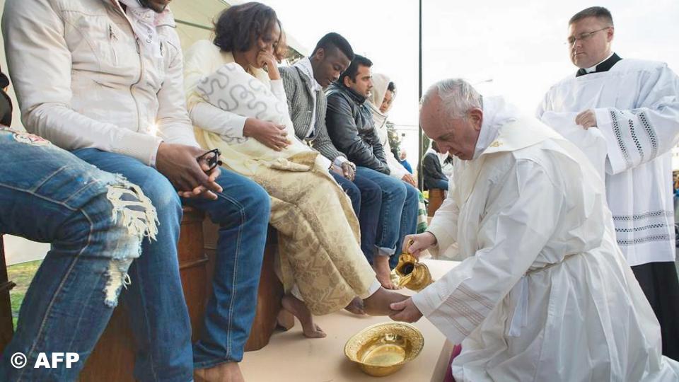 Papież Franciszek: homilia podczas Mszy św. Wieczerzy Pańskiej [pełny tekst]
