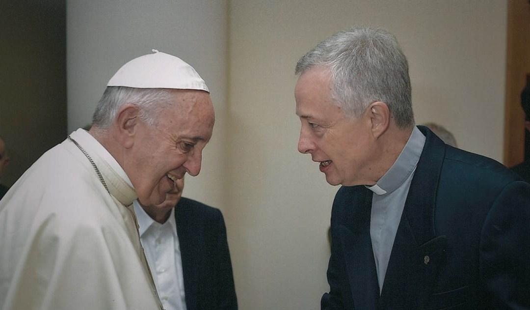 Papież Franciszek, Ks. Tomaž Mavrič CM i Rodzina Wincentyńska – wspólna Eucharystia w Domu św. Marty