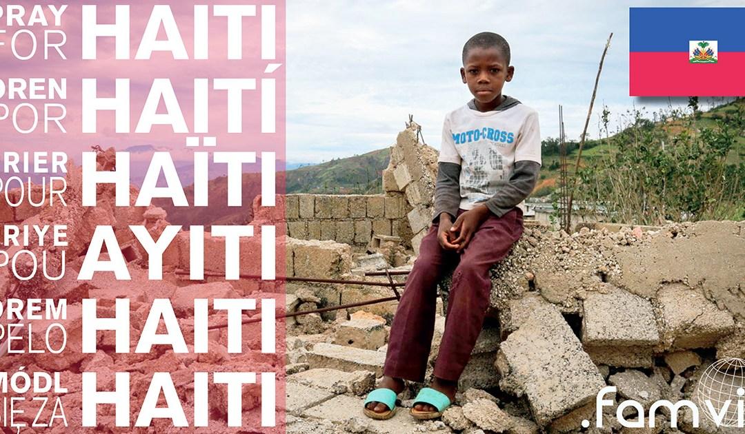 Siostry Miłosierdzia odwiedzają miejsca zniszczone przez huragan Matthew na Haiti