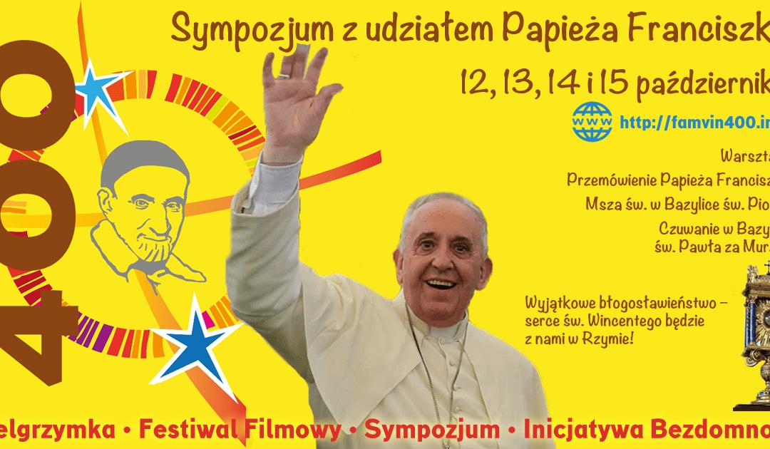 Wincentyńskie szkoły średnie: Przyjedźcie na sympozjum! #famvin400