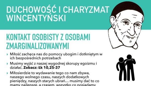Charyzmat Wincentyński – infografika