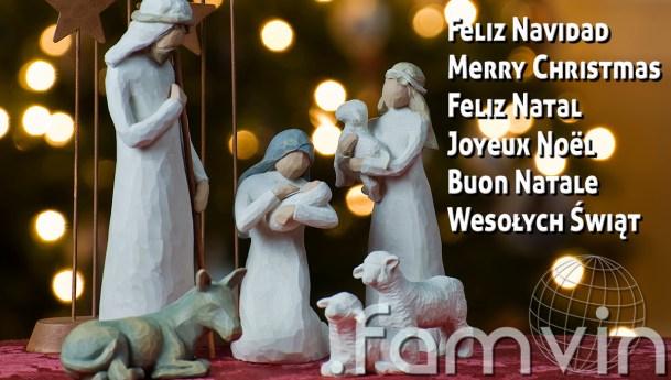 Radosnych i zgodnych Świąt Bożego Narodzenia od redakcji .famvin