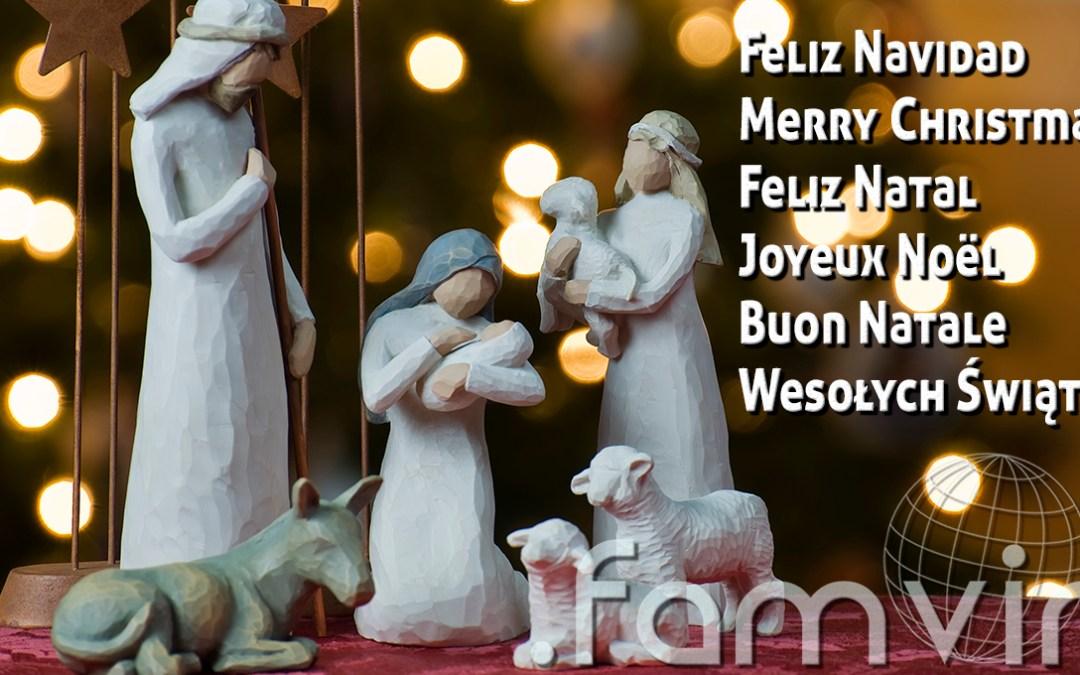 Radosnych i solidarnych Świąt Bożego Narodzenia od redakcji .famvin
