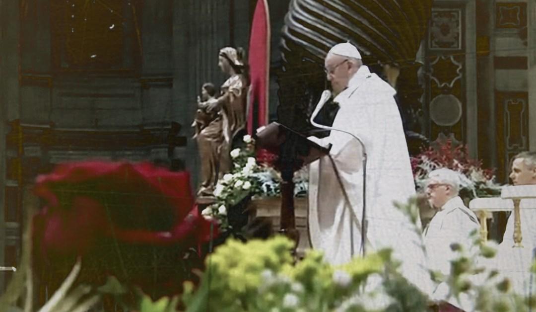 Papież Franciszek: homilia na Pasterce 24 grudnia 2017 [tekst]